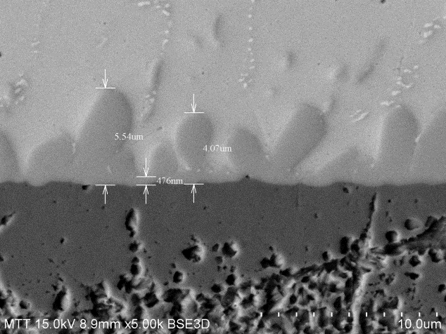 金属间化合物观察与测量