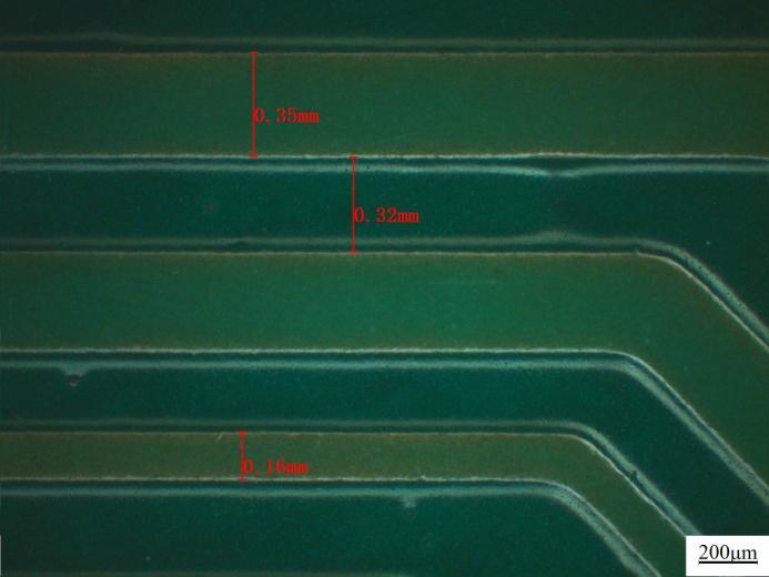 线宽/线距测量