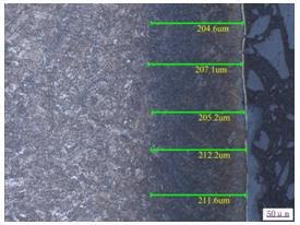 渗氮层深度检测